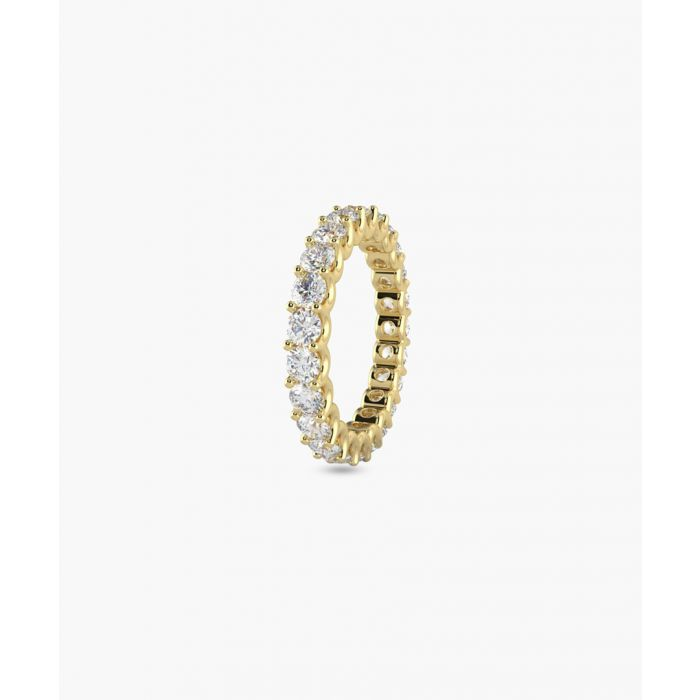 Image for 9k yellow gold full eternity ring