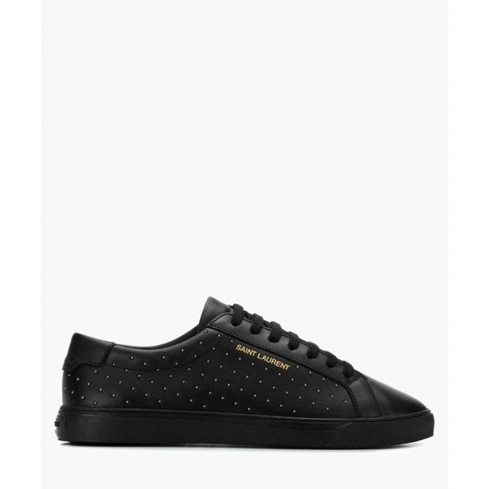 Image for Andy studded leather trainers