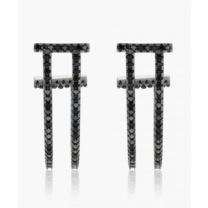 Image for Fucino Lungo black earrings