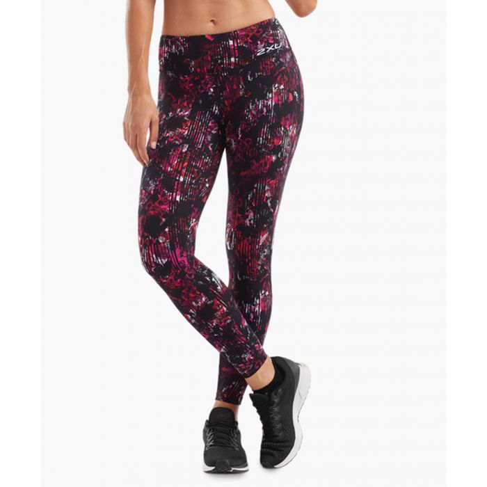 Image for Print Fitness Mid Rise Tights