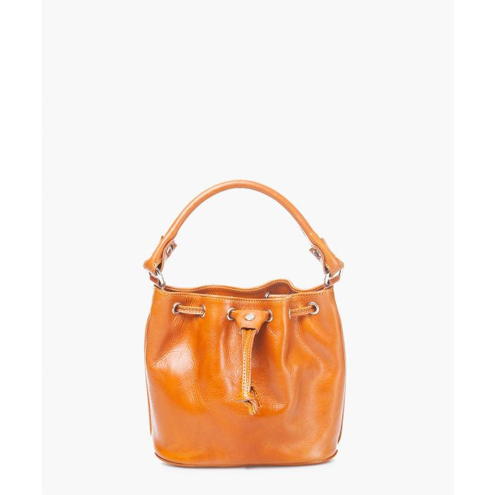 Image for Honey leather grab bag