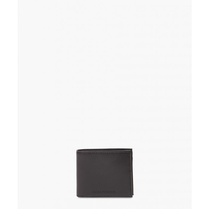 Image for Black leather logo wallet