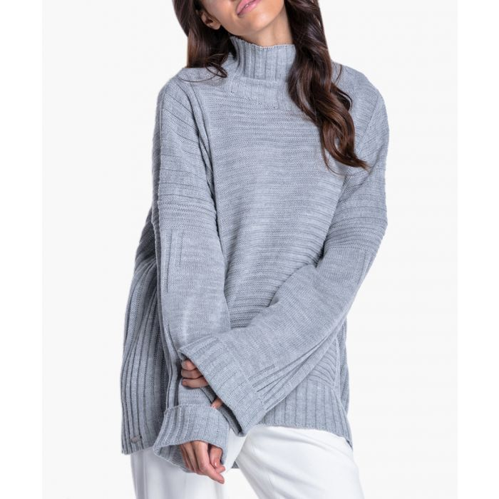 Image for Grey knitted sweater