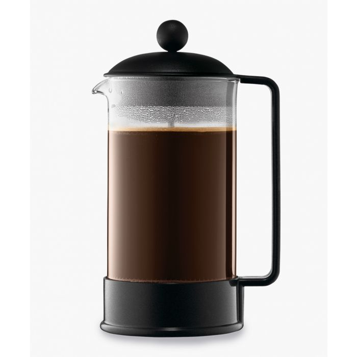 Image for Brazil black 8 cup coffee maker 1.0L
