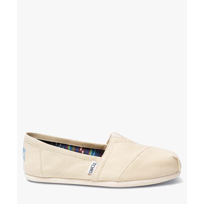 Image for Alpargata natural canvas shoes