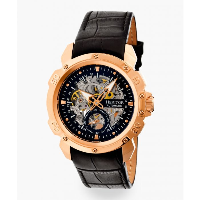 Image for Heritor Automatic Conrad black watch