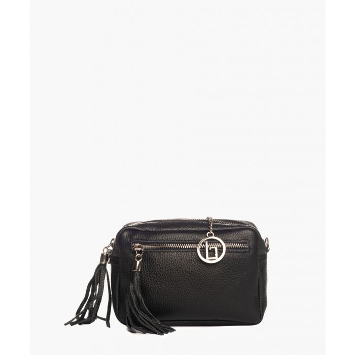 Image for Toce Sorella black leather crossbody