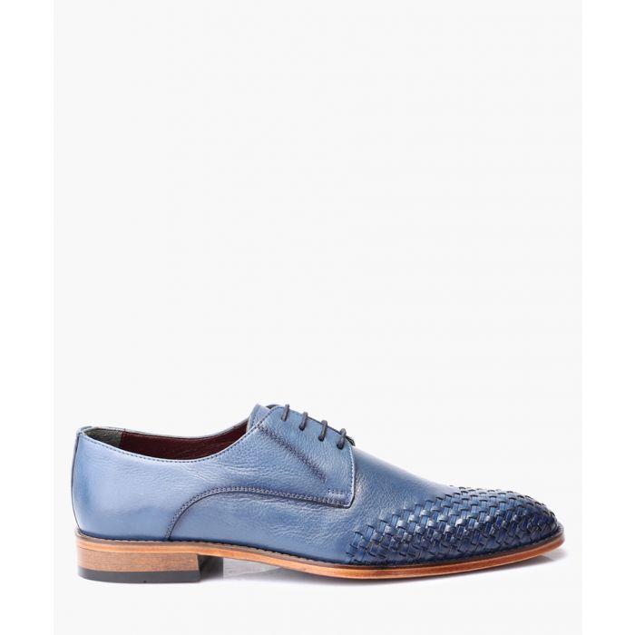 Image for Men's blue Derby shoes