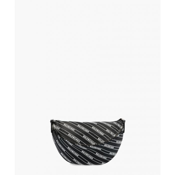 Image for Souvenir black and white logo belt bag