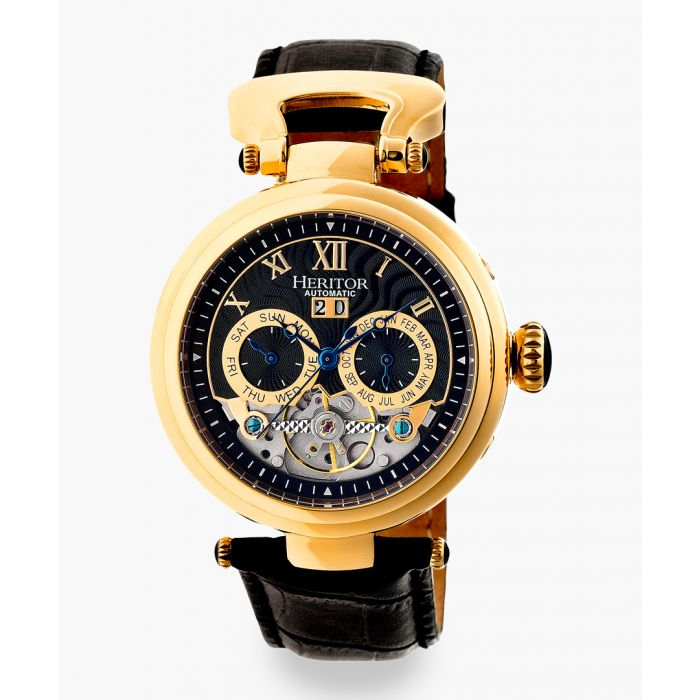 Image for Heritor Automatic Ganzi black watch
