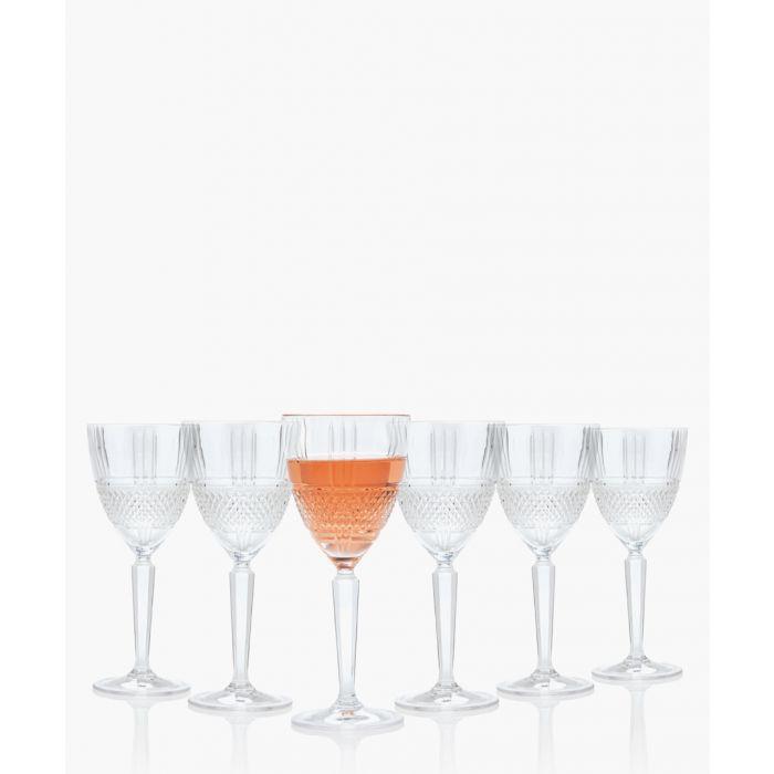 Image for 6pc Brillante red wine glasses 230ml