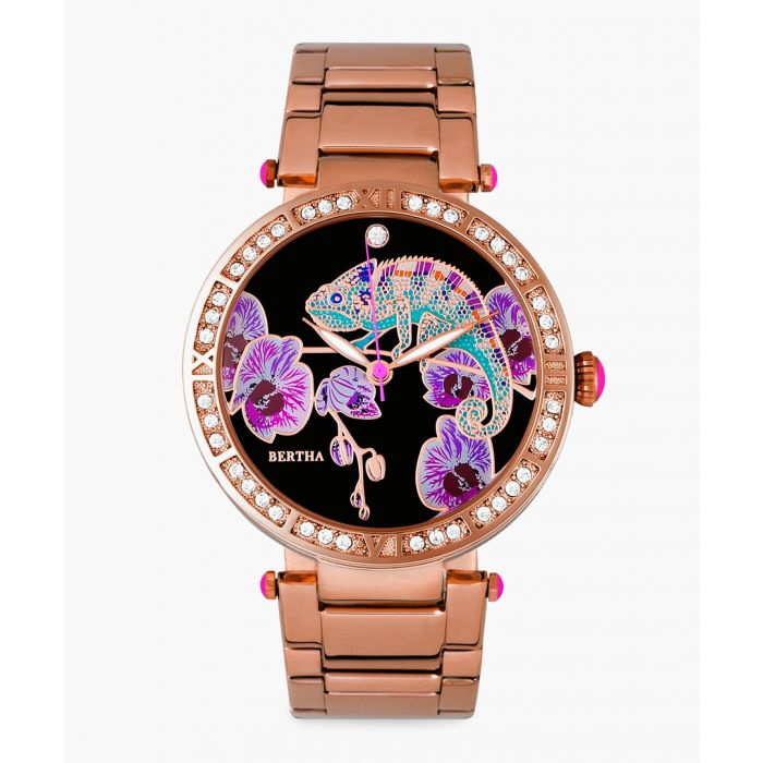 Image for Camilla rose gold-tone watch