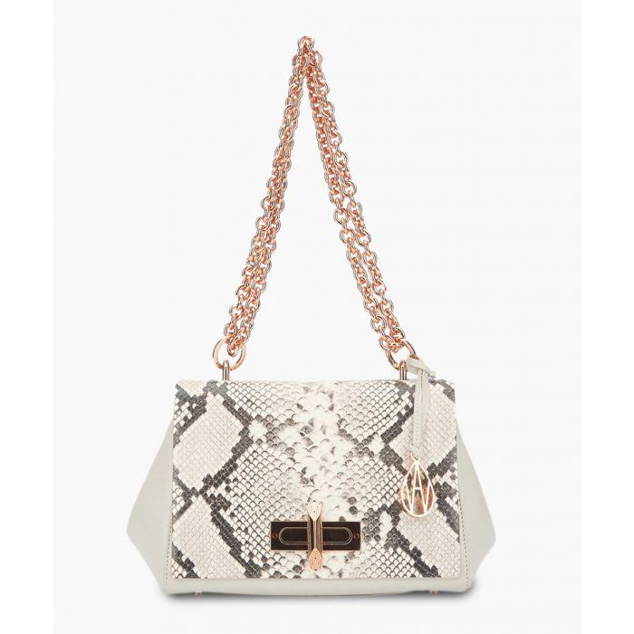 Image for Redmayne cream leather shoulder bag