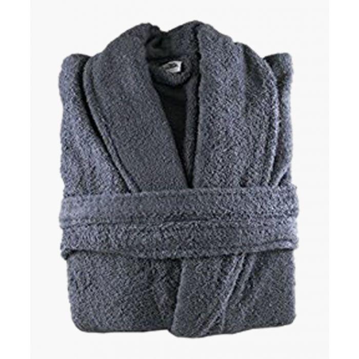 Image for Egyptian Cotton Bath Robe Slate
