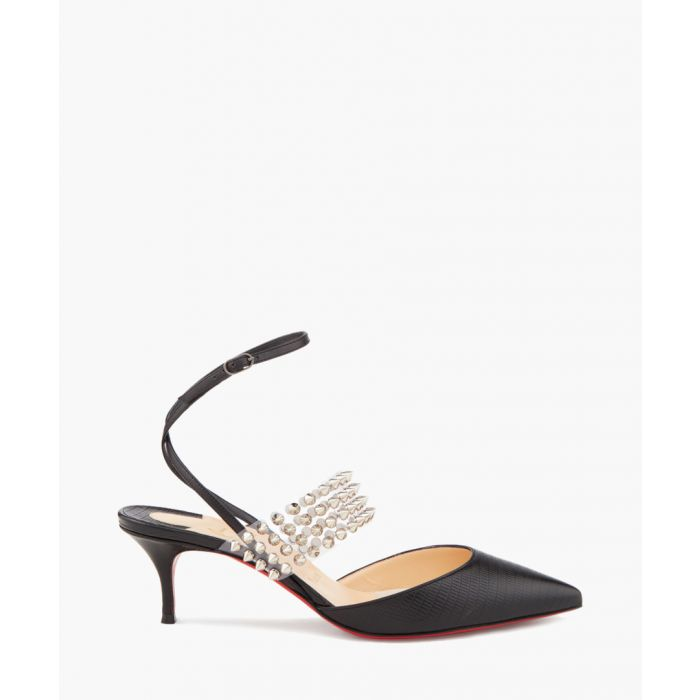 Image for Levita black bejewelled pointed heels