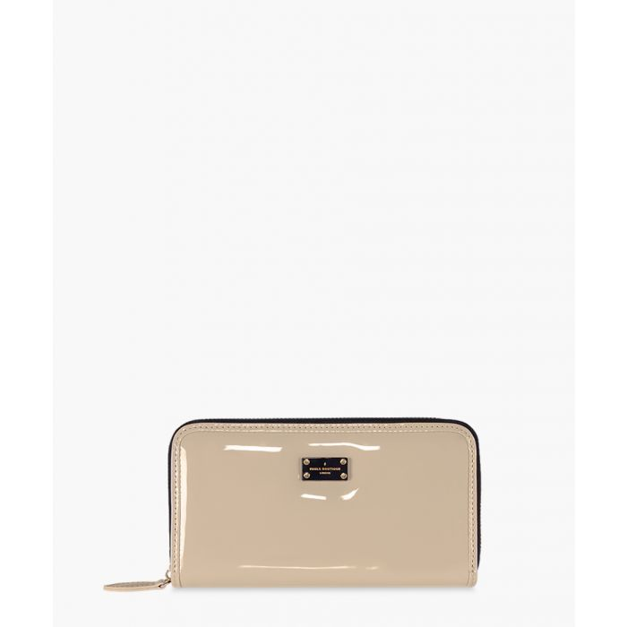 Image for Lizzie patent nude purse