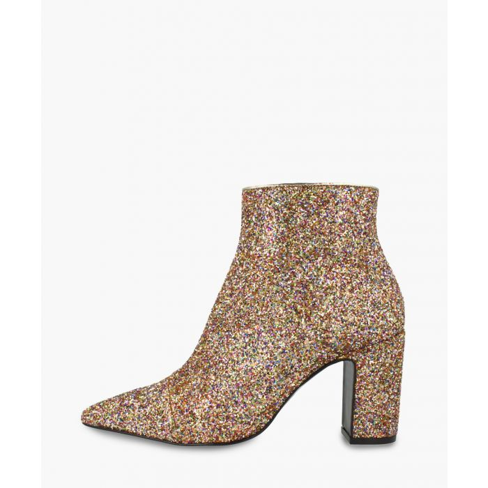 Image for Multi-coloured leather ankle boots