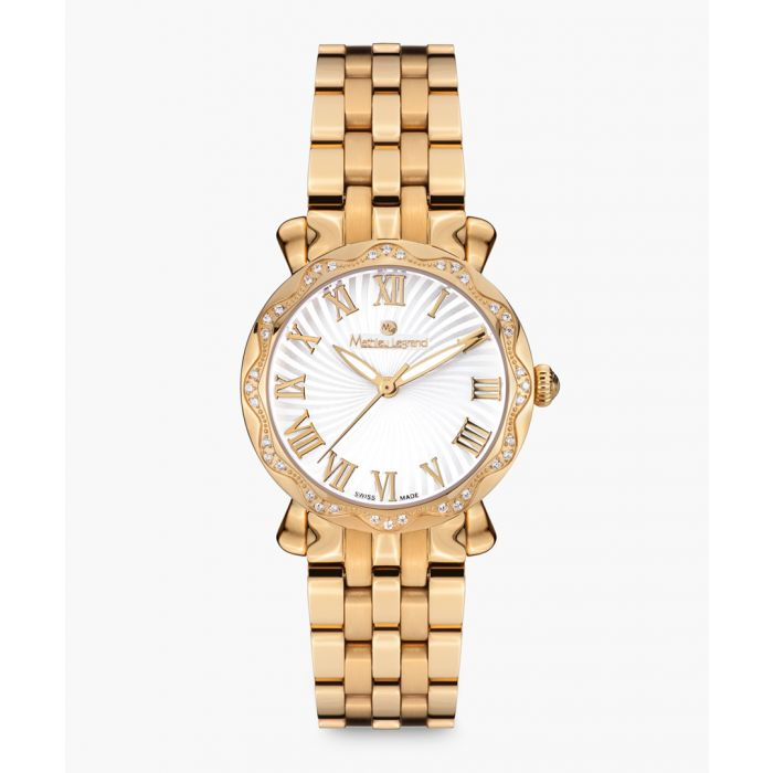 Image for Les Vagues gold-tone watch