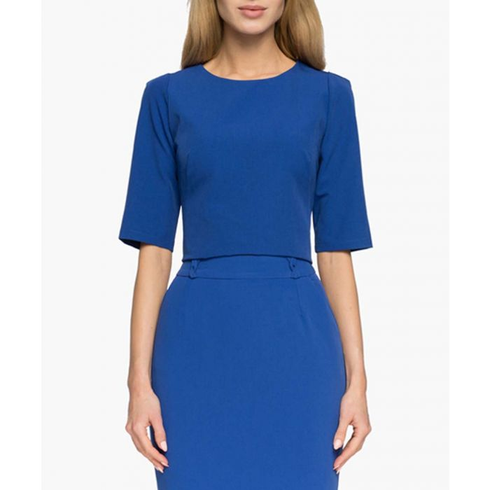 Image for Royal blue blouse