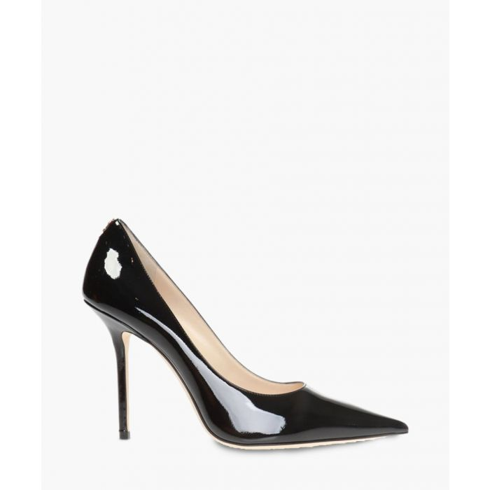 Image for Love 100 black leather pumps