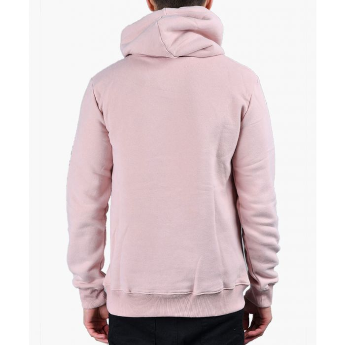 Image for Pink and black cotton blend hoodie