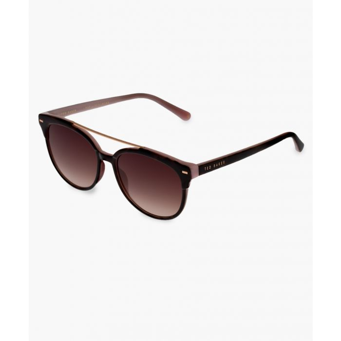 Image for Solene brown sunglasses