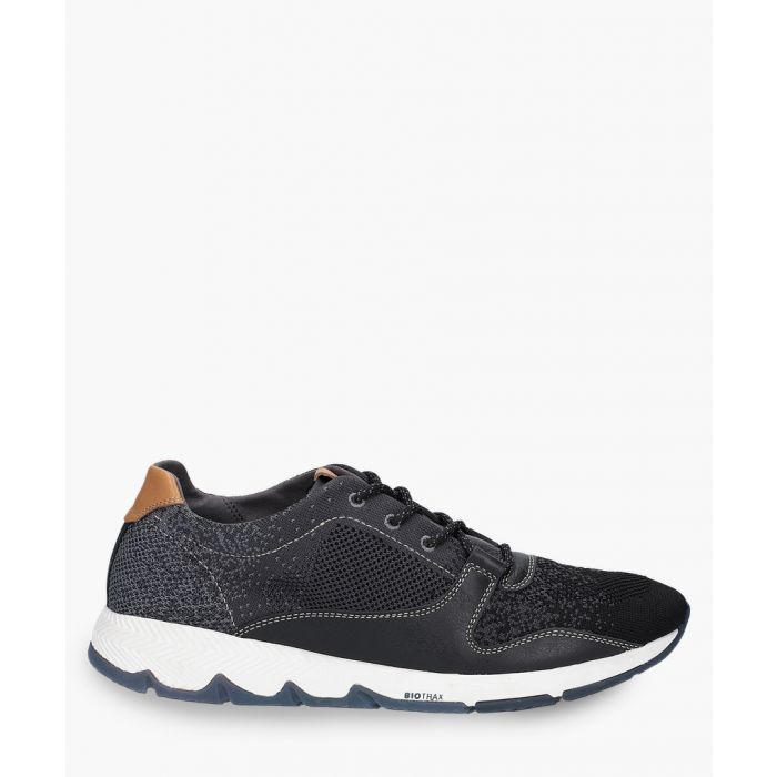 Image for Mens black trainers