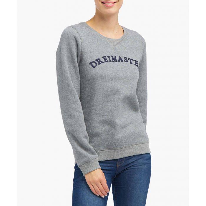 Image for Grey melange jumper
