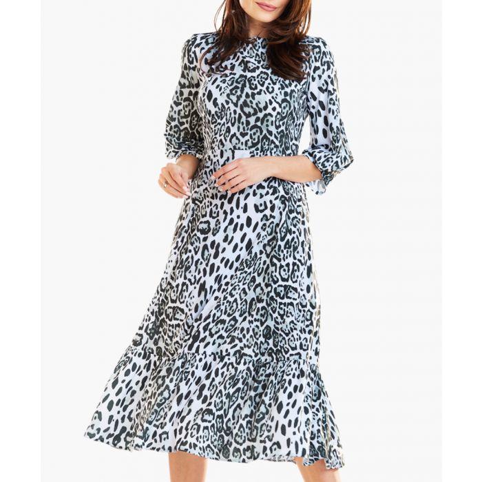 Image for white & black dress