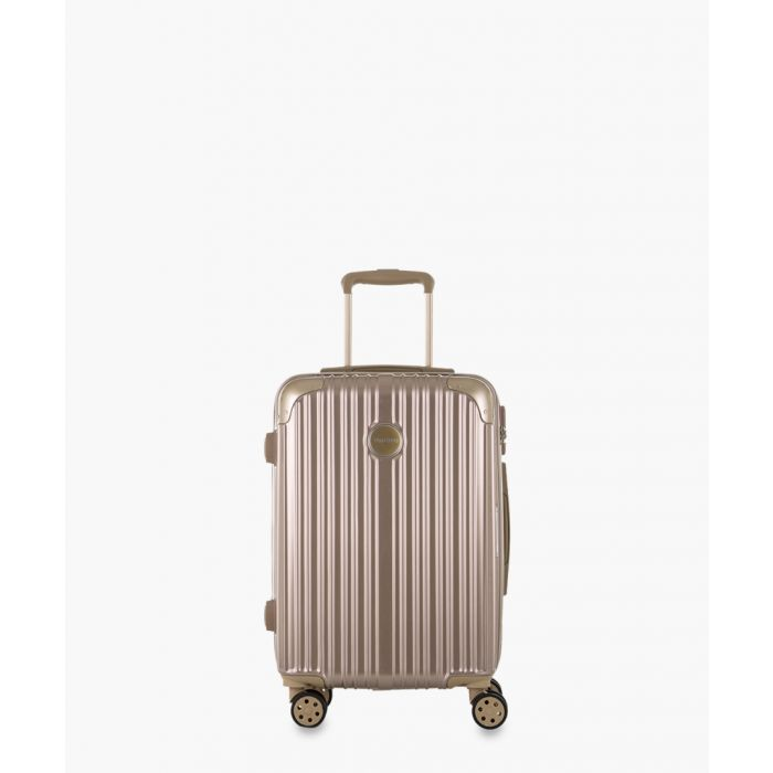 Image for 2pc gold-tone cabin spinner suitcase