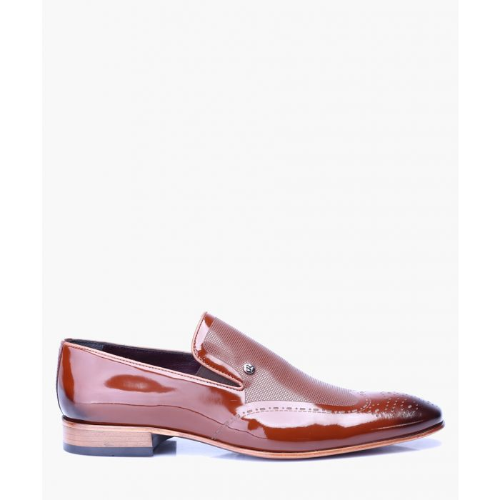 Image for Men's tan loafers