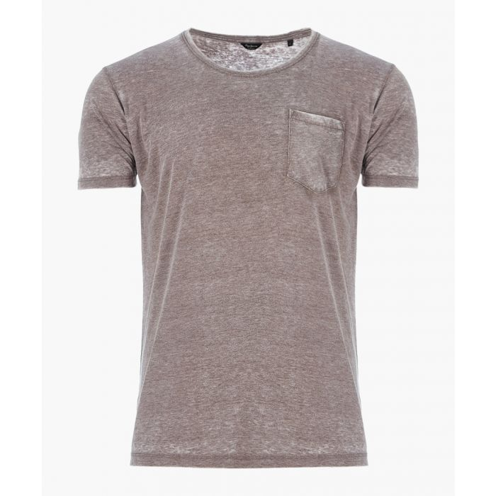 Image for Shepherds grey cotton blend T-shirt