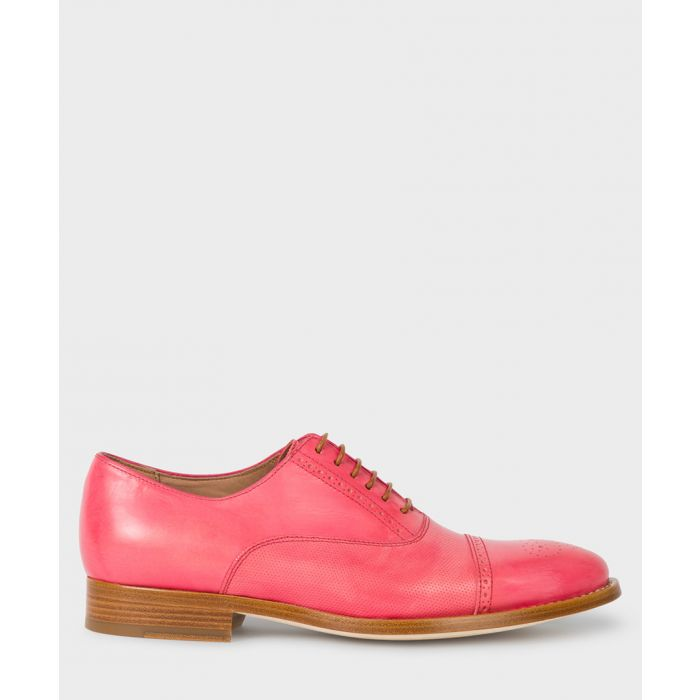 Image for Pink leather brogues