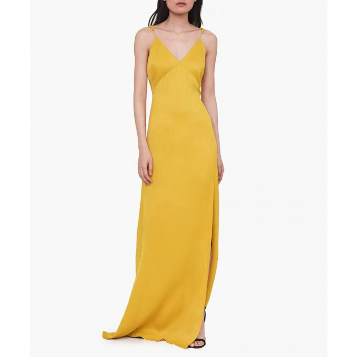 Image for The Goldhawk yellow dress