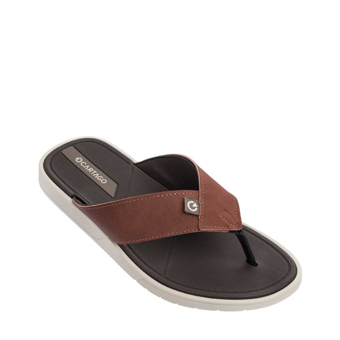 Image for Valencia Brick black flip-flops