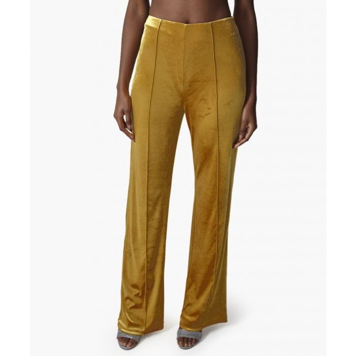 Image for Laurent gold shimmer trousers