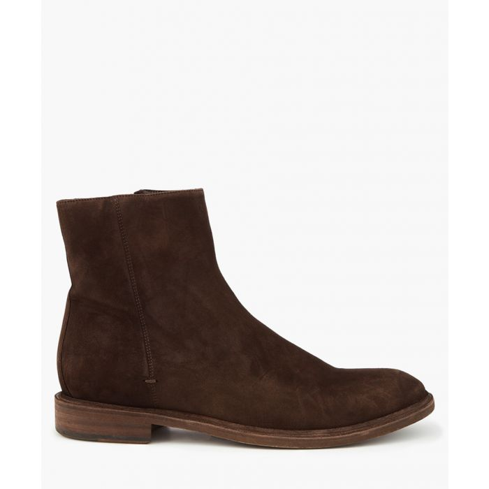 Image for Brown suede boots
