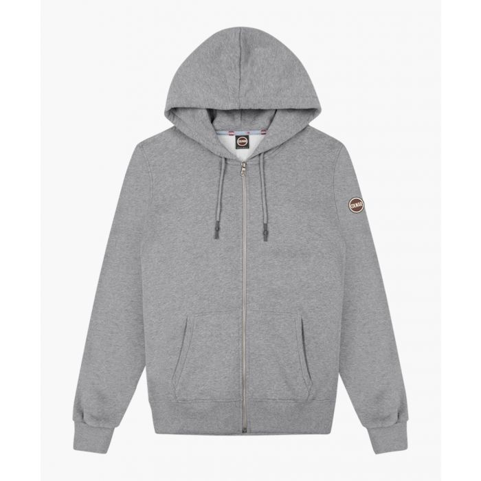 Image for Grey pure cotton hoodie