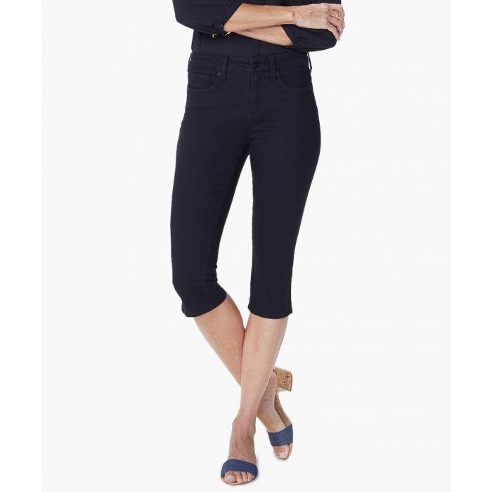 Image for Black skinny capri jeans