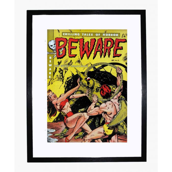 Image for Beware 12 framed print