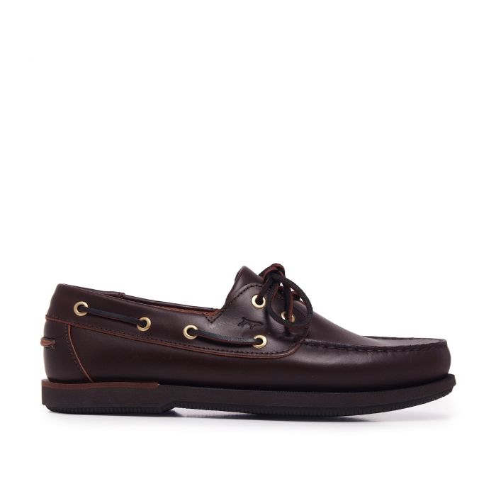 Image for Leather Boat Shoes for Men Castellanisimos