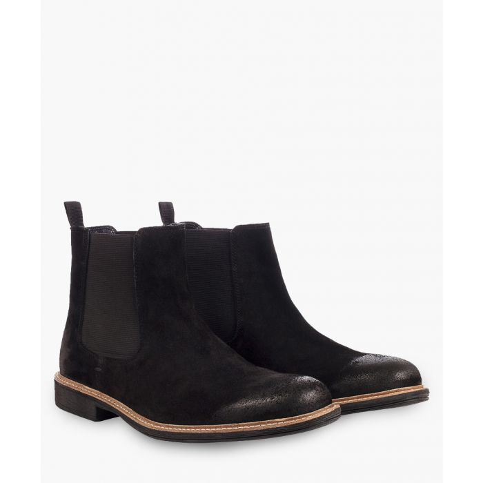 Image for Clough black leather Chelsea boots