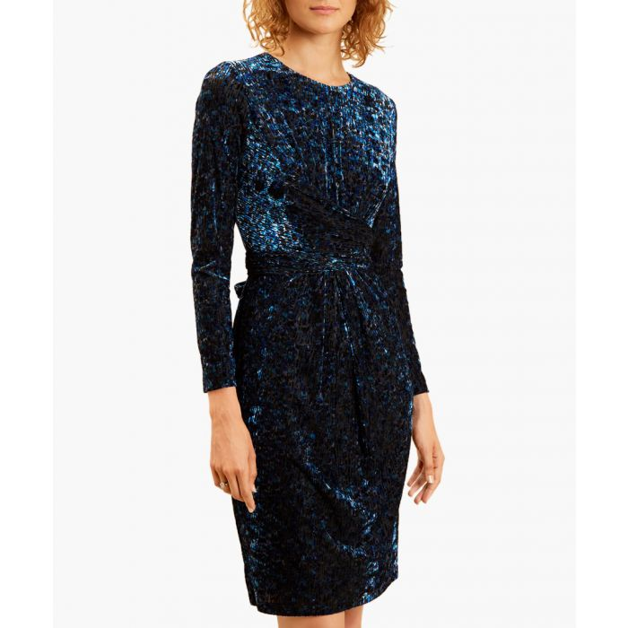 Image for Sita blue mini dress