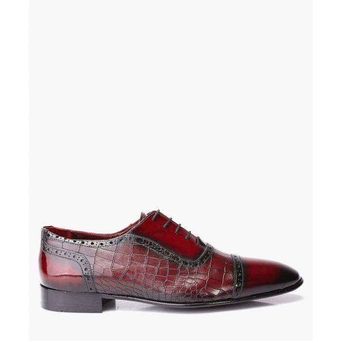 Image for Bordeaux leather brogues