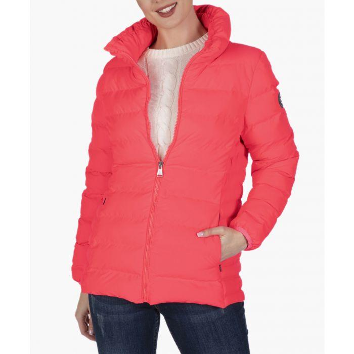Image for Orange cotton coat