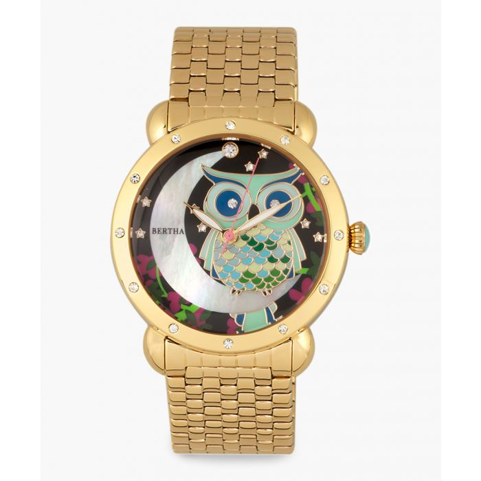 Image for Ashley gold-tone watch