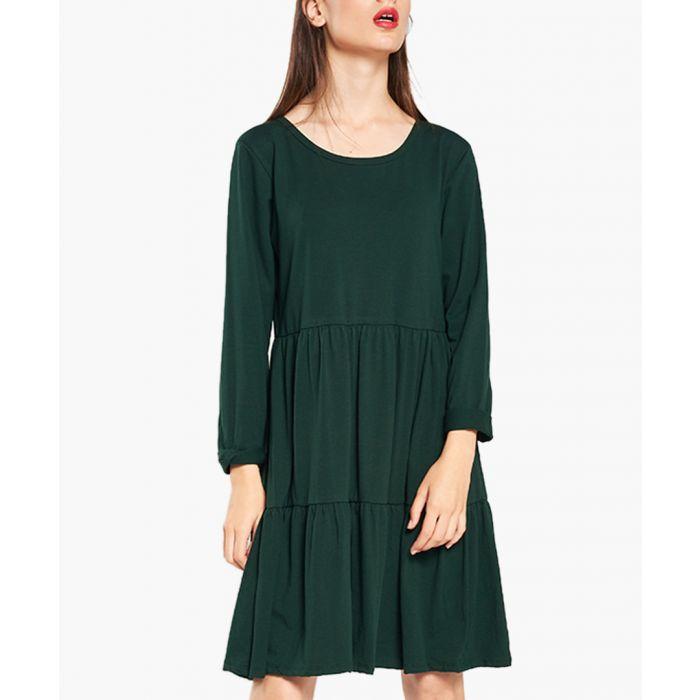 Image for Luster Green Dress