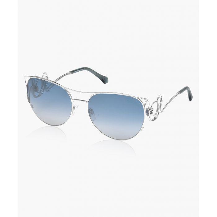Image for Carmignano silver-tone sunglasses