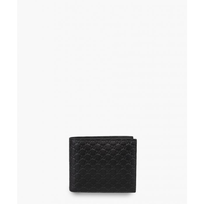 Image for Guccissima black leather embossed wallet