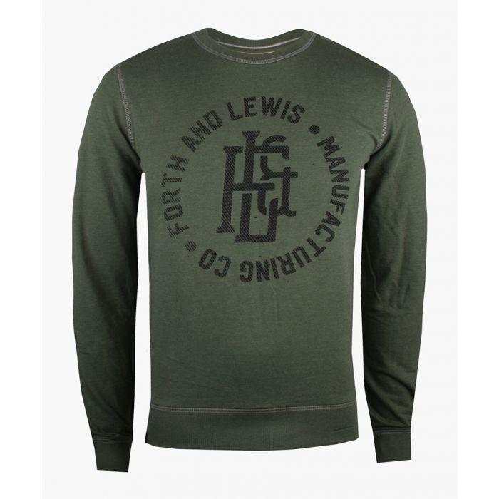 Image for Khaki crew neck sweater